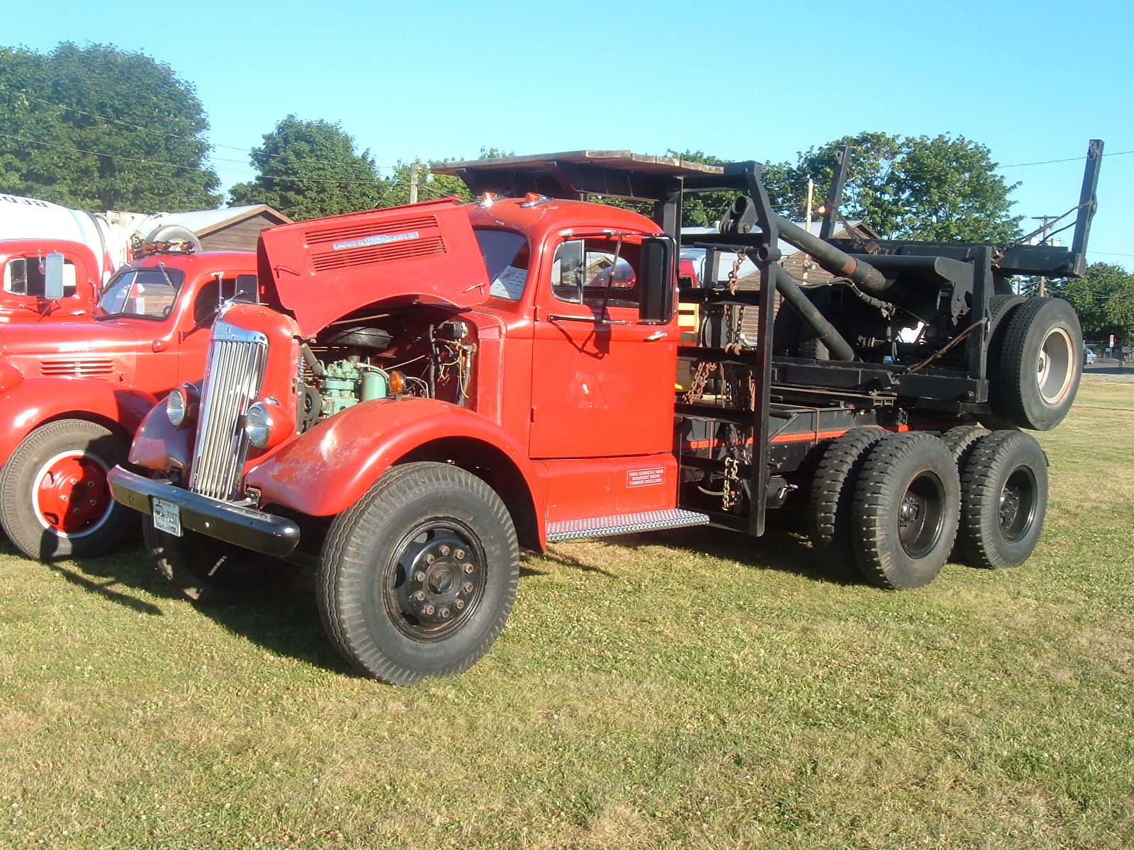 1951 White Super Power Aths Vancouver Island Chapter