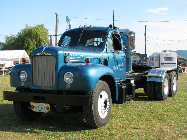 1963 Mack Truck : Mack b aths vancouver island chapter