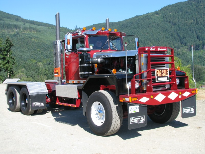 1965 White 4000 Semi Tractor : Kenworth aths vancouver island chapter