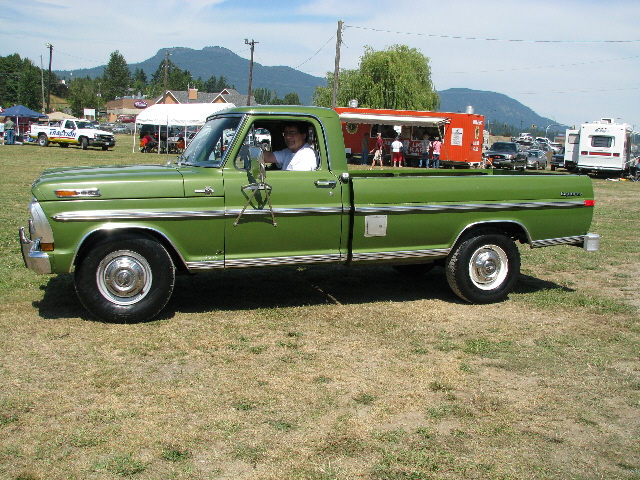 1972 Ford F250   ATHS Vancouver Island Chapter