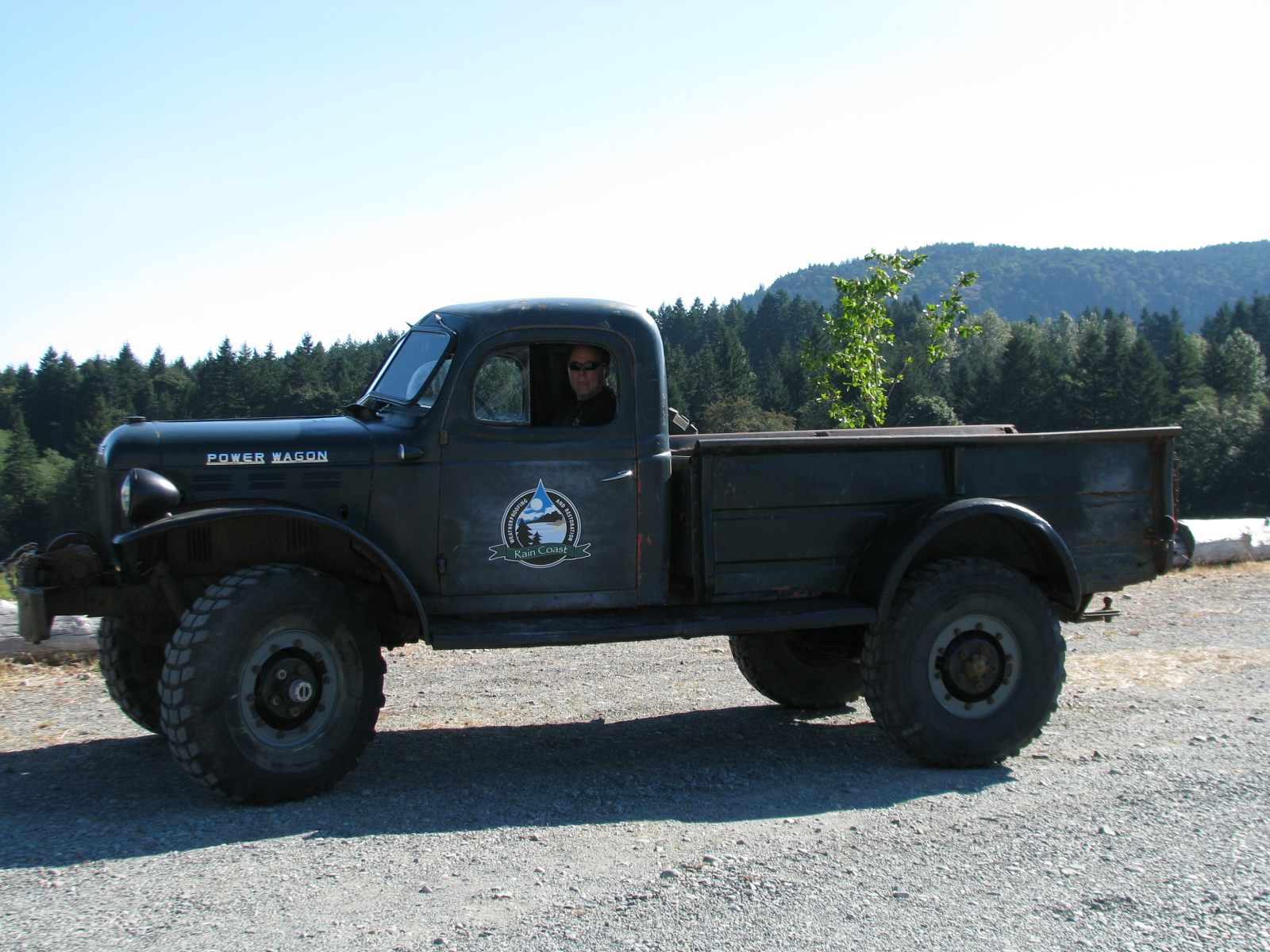 1954 Dodge Powerwagon Aths Vancouver Island Chapter Pickup Truck